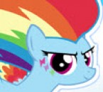 Rainbow Dash Rainbow Power Dress Up (856 times)