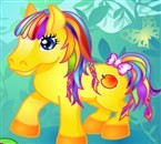 Her Little Pony Dress Up (526 times)