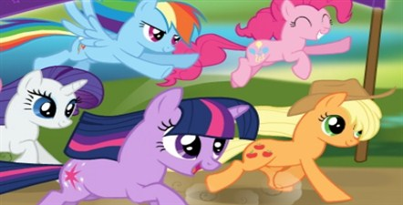 My Little Pony Racing is Magic (25 615 times)